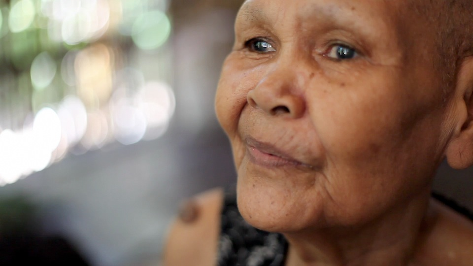 78-year-old Ton Song discusses how she pretended to not be Khmer Krom in order to not be persecuted for her ethnic identity during the Khmer Rouge period. She also discusses the various cultural practices and traditions. (Photo by Rothany Srun)